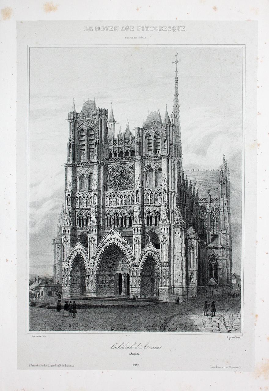 Amiens picardie somme kathedrale notre dame gotik - Architektur gotik ...