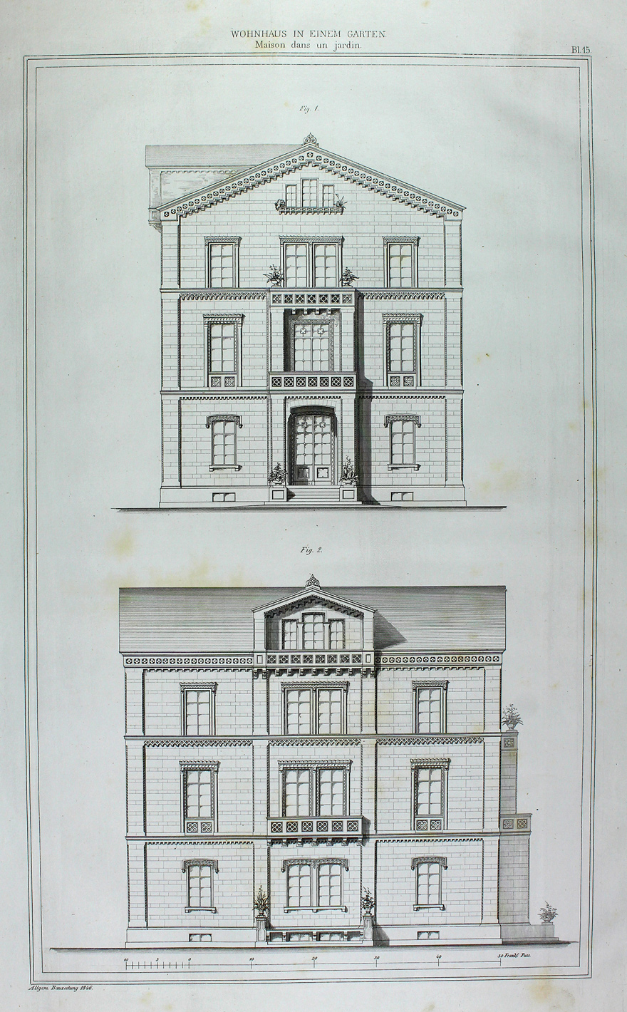 architekt frankfurt am main fassade wohnhaus balkon portal