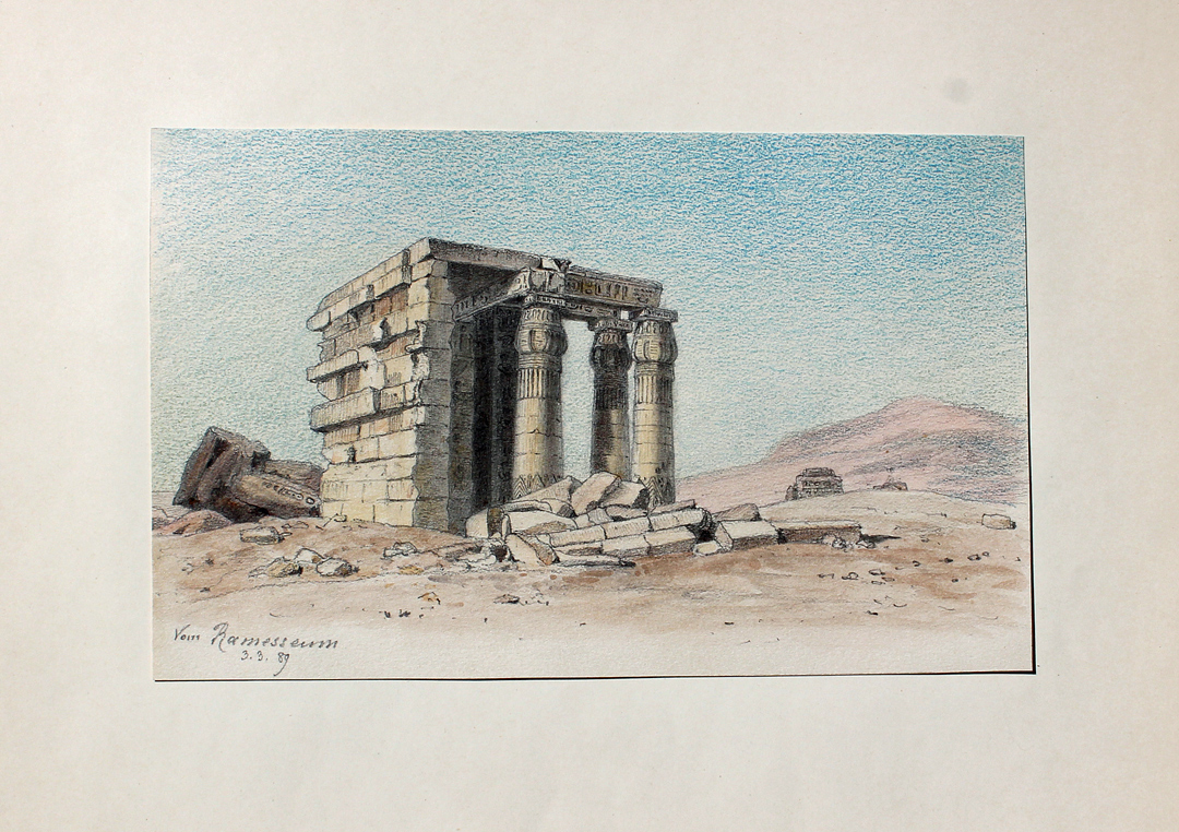ramesseum pharao ramses ii gypten egypt theben toten tempel arch ologie s ule luxor. Black Bedroom Furniture Sets. Home Design Ideas