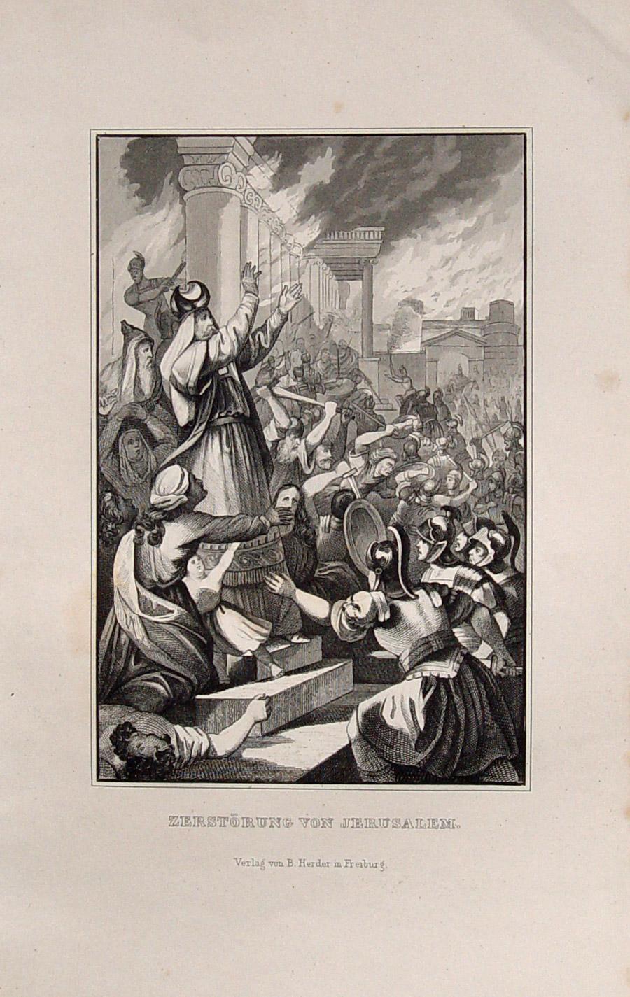 zerstörung des tempels in jerusalem