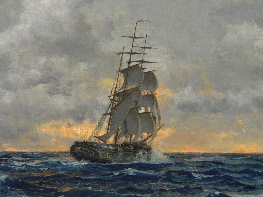 Tall Ships Oil Paintings